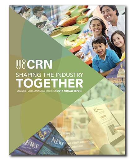 2017 Annual Report | Council for Responsible Nutrition