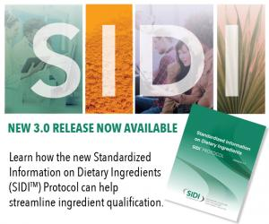 SIDI Work Group Releases Updated Protocol to Help Maintain Dietary